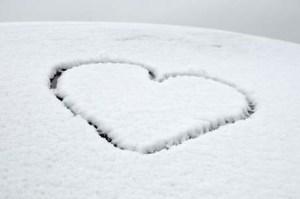 coeur neige #7