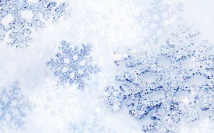 fond-ecran-noel-flocons-neige